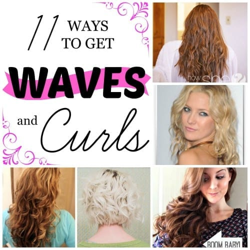 11 Ways to Get Waves and Curls ~ Tipsaholic.com