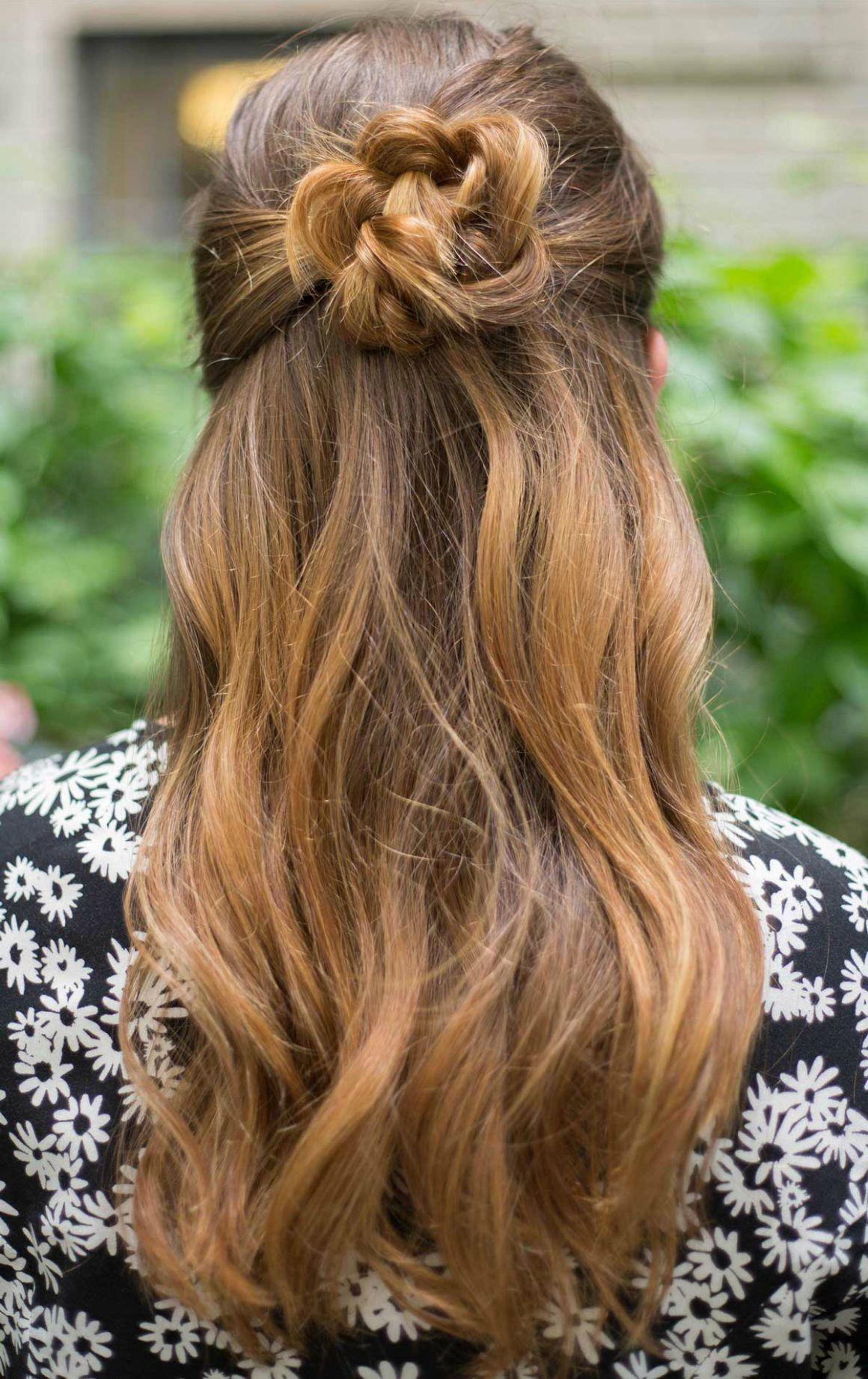 hairstyles little easy bun braid flower