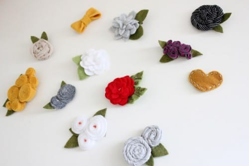 If you're tired of the same boring, store-bought stuff, try making your own DIY hair accessories! Here're 30 of the best headbands, clips, bobbies and more. 30 Adorable DIY Hair Accessories for Girls - Tipsaholic.com #DIYaccessories, #hair, #DIYhair, #hairaccessories, #clips, #girls, #headbands