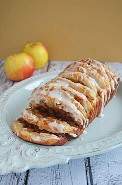 apple fritter pull apart bread recipe