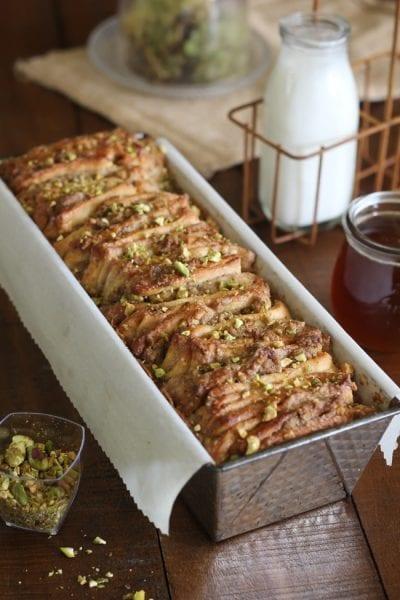 baklava pull apart bread recipe