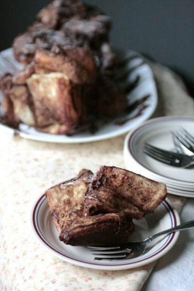 nutella cinnamon sugar pull apart bread recipe