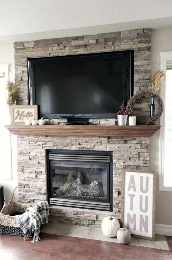 Living Room Mantel Ideas With Tv Novocom Top