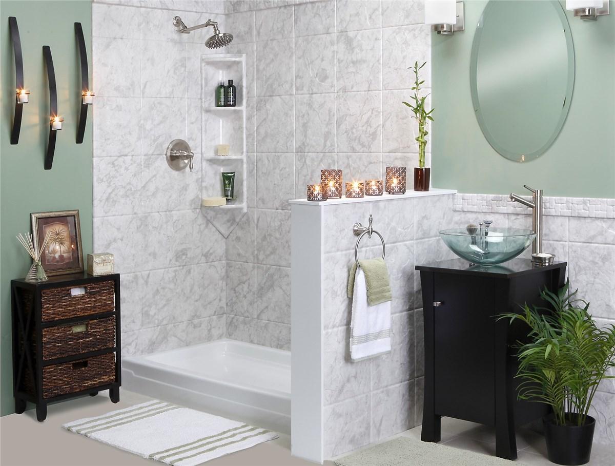 charleston shower surrounds mount