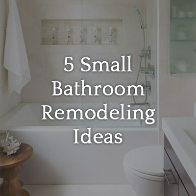 5 Small Bathroom Remodel Ideas (on a Tight Budget ... on Small Space Small Bathroom Ideas On A Budget id=33837
