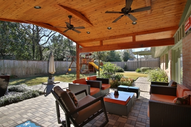 Bring The Indoors Out With A Covered Patio Addition