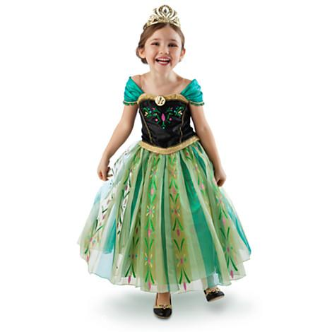 9530d3cfc0a3 The Disney Store Anna Coronation Gown Costume is BEAUTIFUL and would make  any little girl smile