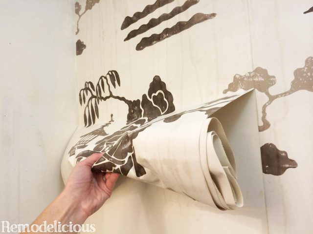 how to remove wallpaper easily without chemicals using steam - How To Remove Wallpaper Easily