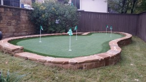Designing and Installing a Backyard Putting Green ... on Putting Green Ideas For Backyard id=13904