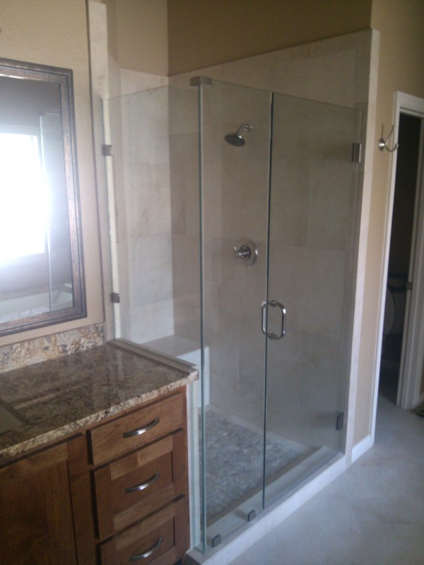 Frameless Glass Shower Amp Bathroom Renovation Medford