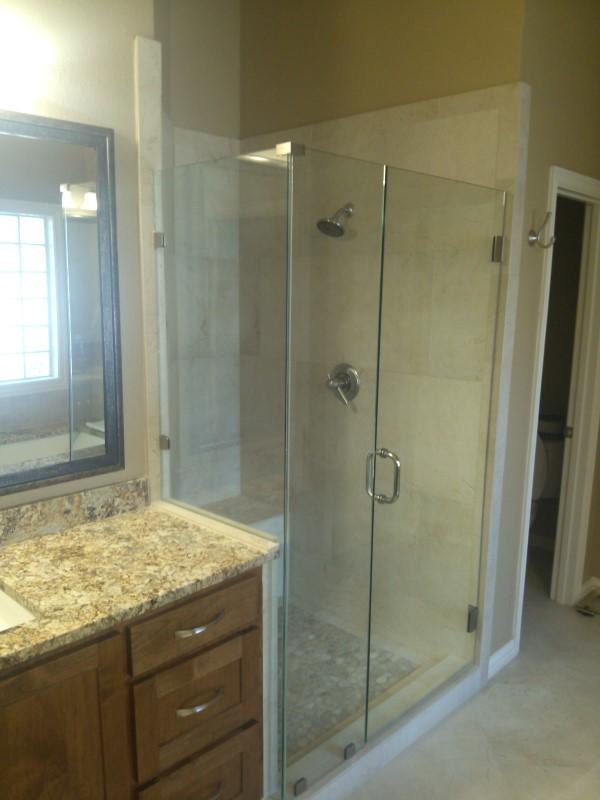 Frameless Glass Shower Amp Bathroom Renovation Medford Remodeling