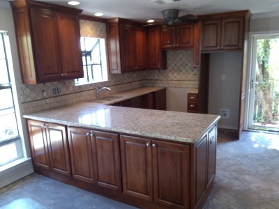 Kitchen Remodel Via Wall Removal Medford Remodeling