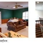 An Upstairs Bonus Room Transformed Into A Useful Home Office Loft