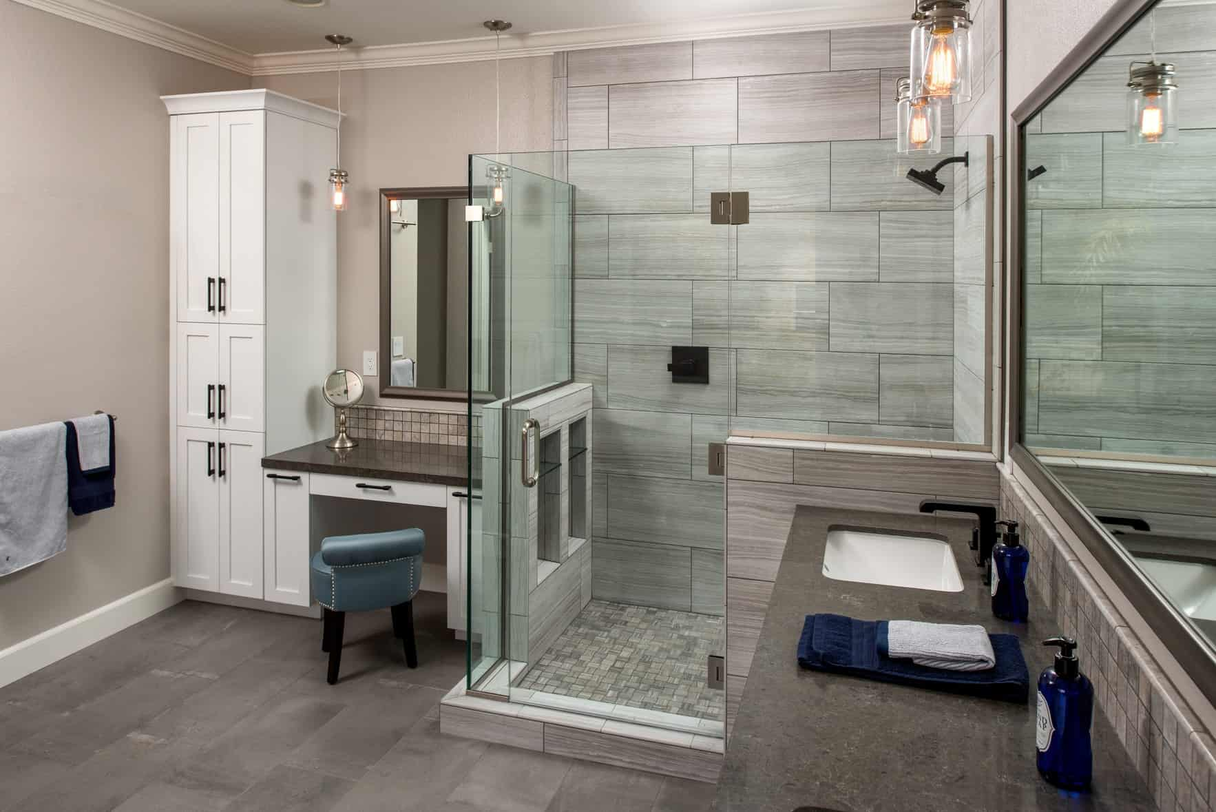 Contemporary vs Traditional Bathroom Remodel | Remodel Works on Restroom Renovation  id=80604