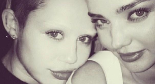"""31 Ahora Miley Cyrus """"sin cejas"""" [Artitaje]"""