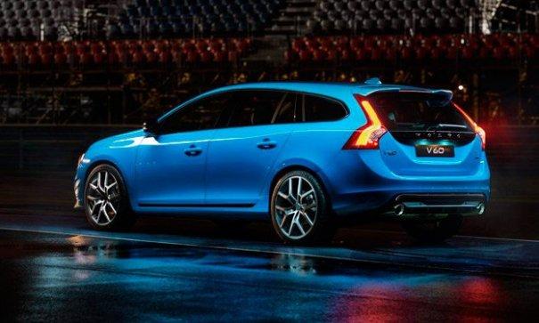 volvo v60 polestar trasera Volvo V60 Polestar [fotos]