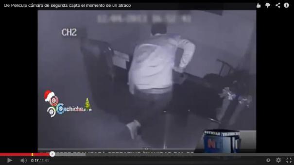 """3 Como en """"Misión imposible""""; Robo captado en cámara [Video]"""