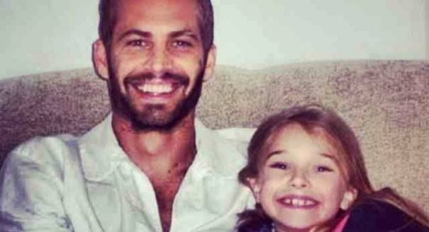31 Así se despidió de su padre la hija de Paul Walker