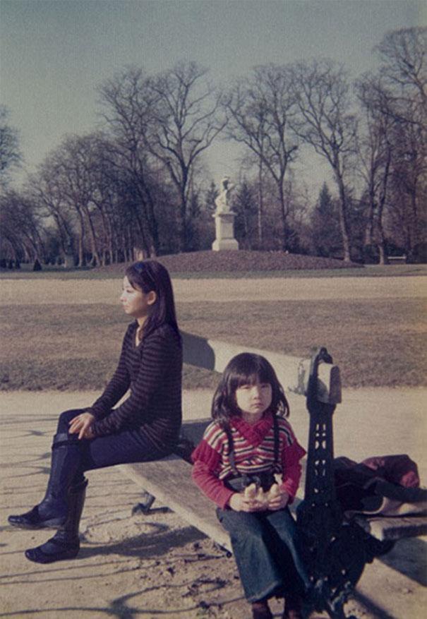 42 Fotógrafa viaja en el tiempo a su niñez [fotos]