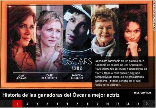 38 Las mejores actrices de todos los tiempos [Óscar]