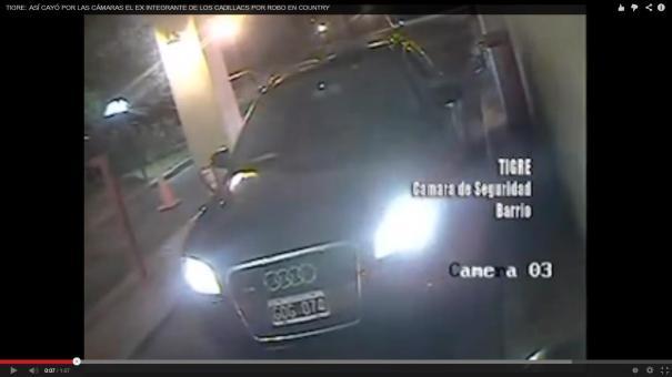 52 Video: ex músico de famosa banda ayudó a ladrones [Argentina]