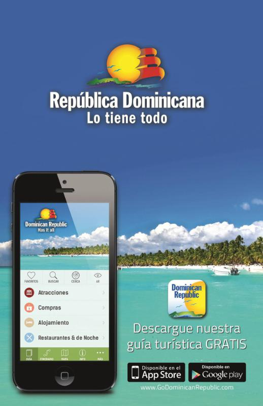DOMINICAN REPUBLIC MINISTRY OF TOURISM APP