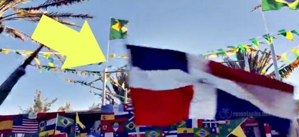 banderota Banderota dominicana en video oficial del Mundial de Fútbol