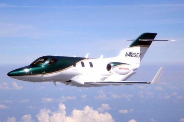 image136 Primera producción de avión Honda despega de Carolina del Norte