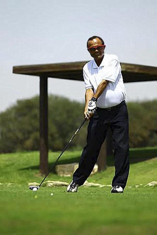 image96 El campeón mundial de golf para ciegos