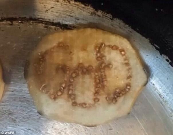 20140709 150443 54283176 Cocinero encuentra la palabra GOD en una berenjena [foto]