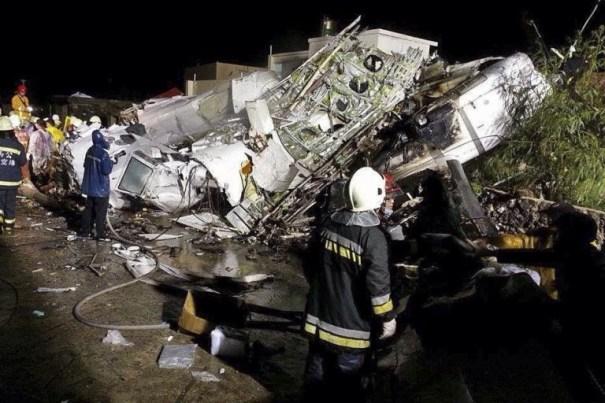 20140723 131550 47750188 Primeras fotos del vuelo de TransAsia que se estrelló en Taiwan