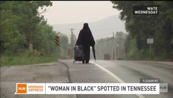 20140730 132522 48322974 Misteriosa mujer vestida de negro se vuelve viral