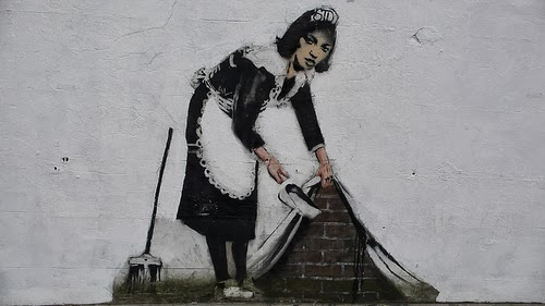 Foto via Banksy