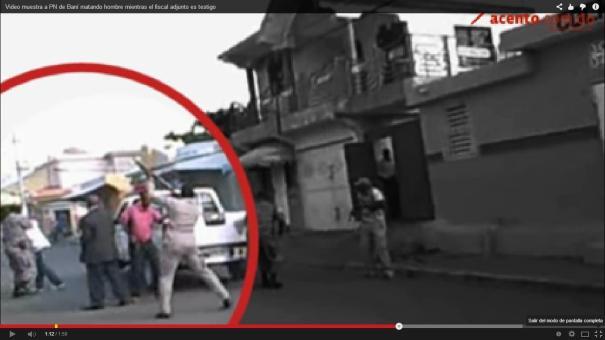 """110 Fiscal """"plantador"""" de Ocoa estuvo en caso de doble asesinato en Baní [Video]"""