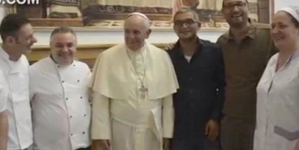 20140801 135046 49846492 El papa Francisco se escapa de nuevo