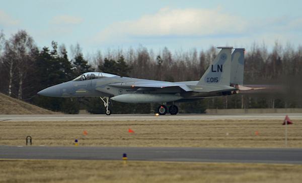 US F-15 crashes in Virginia: Pentagon