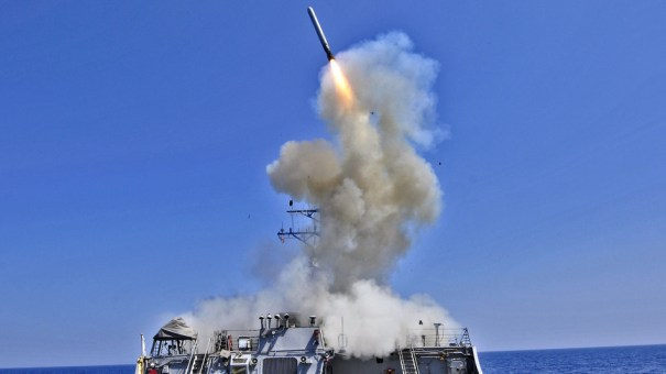 U.S. Navy Sets Destroyers On Standby For Possible Strike On Syria