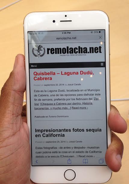 iPhone 6 Plus remolacha.net