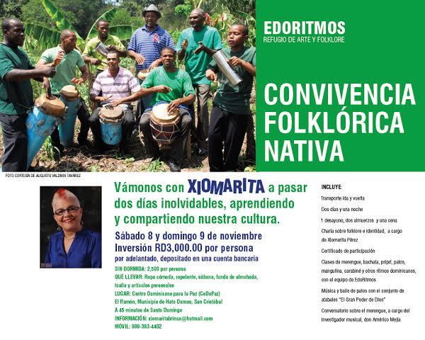 evento Evento cultural   Convivencia Folklorica Nativa [RD]