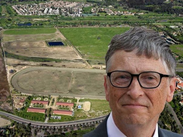 in-late-2014-bill-gates-spent-18-million-on-a-228-acre-horse-farm-in-rancho-santa-fe-california-the-property-known-as-the-rancho-paseana-includes-a-racetrack-guesthouse-office-veterinarians-suite-orchard-and-five-