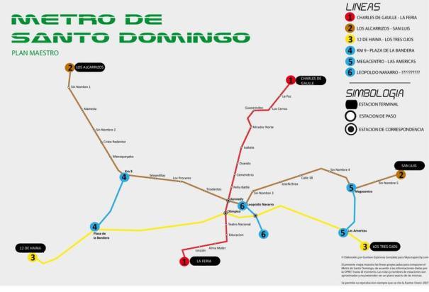 mapa-metro-santo-domingo