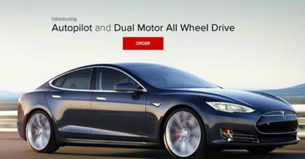 tesla d Revelan nuevo super carro eléctrico e inteligente
