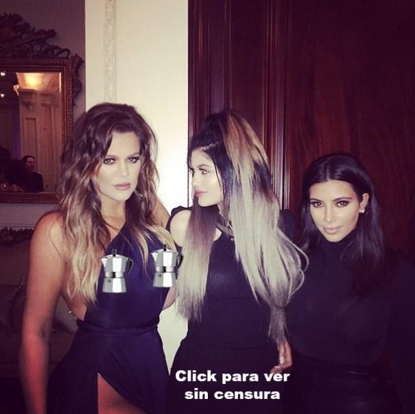 kkk Foto – Kloe Nargashian ya no cree en brasieles