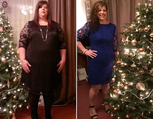 image223 Jeva perdió 126 libras tras foto revelar era más grande que árbol de Navidad