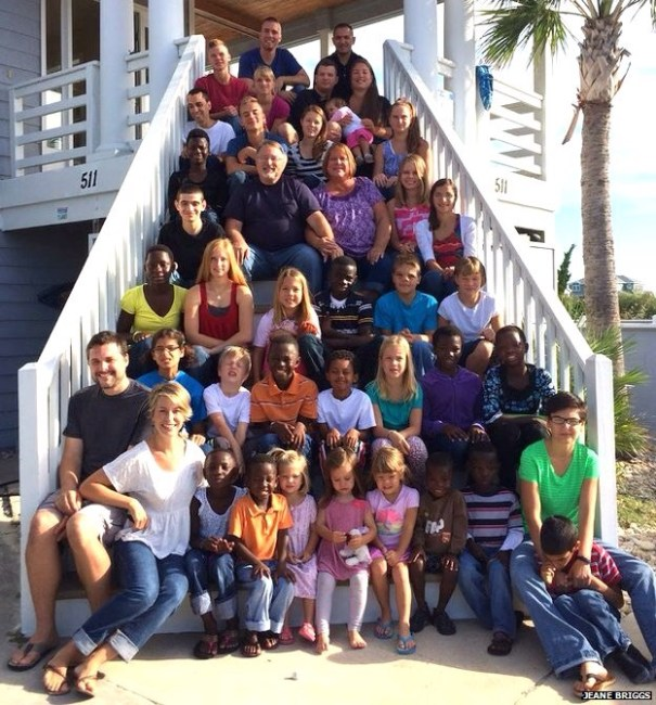 image228 Esto es una familia numerosa: 34 hijos