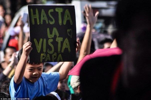 img 4820 Seis millones despidieron al Papa en Manila