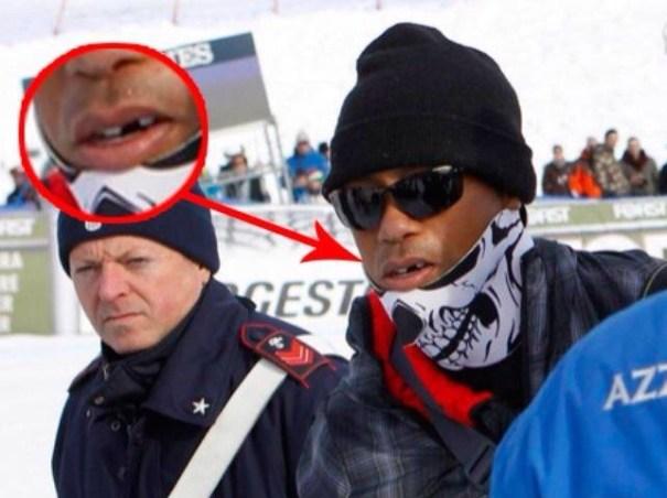 img 4851 Foto   La real razón de la máscara de Tiger Woods
