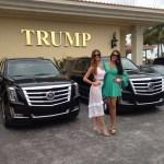 Kimberly Castillo junto a Miss España