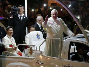 Papa Francisco den Filipinas