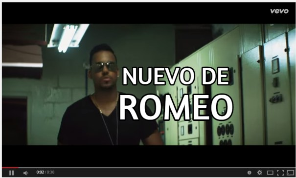 shareasimage El nuevo video de Romeo con Marc Anthony.